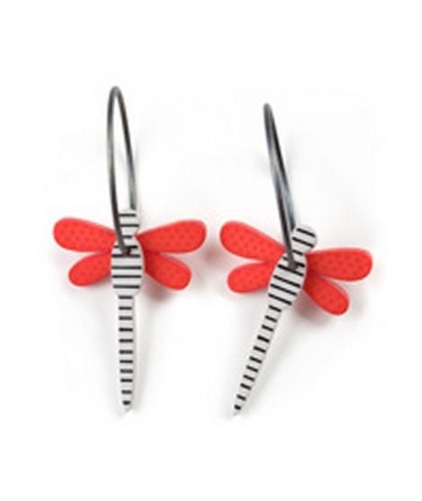 Earrings Dragonfly 33A
