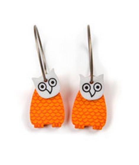 Earrings Owl 35A