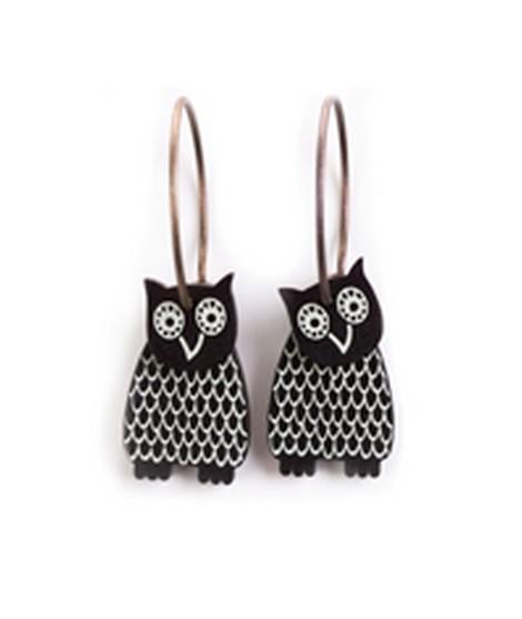 Earrings Sova 27D
