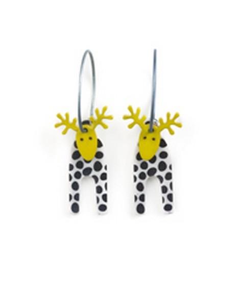 Earrings Moose 55B