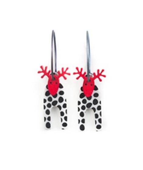 Earrings Moose 55C