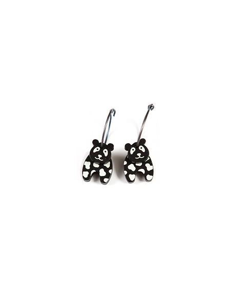 Earrings Panda 11A