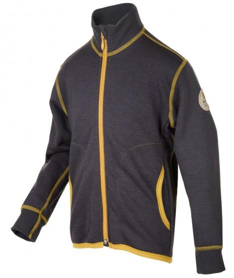 Janus LW merino Jacket Junior grey