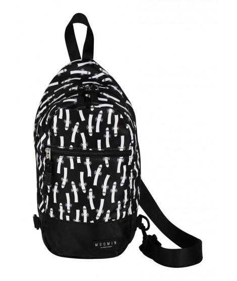 City Shoulder bag Moomin Hatti black