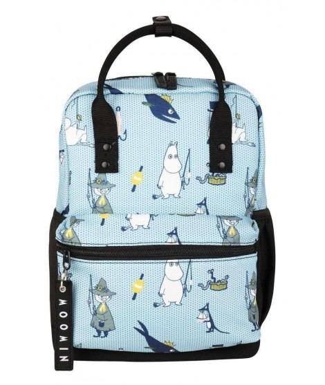Malý batoh Moomin Viuhti Pals modrý