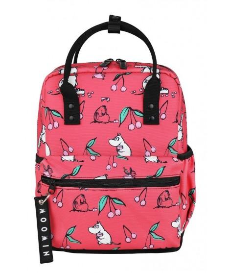 Bagpack Moomin Viuhti Cherry pink
