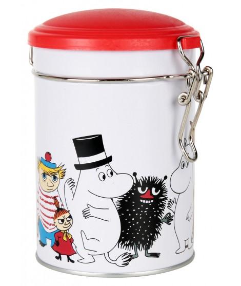 Tea tin Moomin characters 0,5L