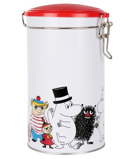 Coffee tin Moomin characters 1,5L
