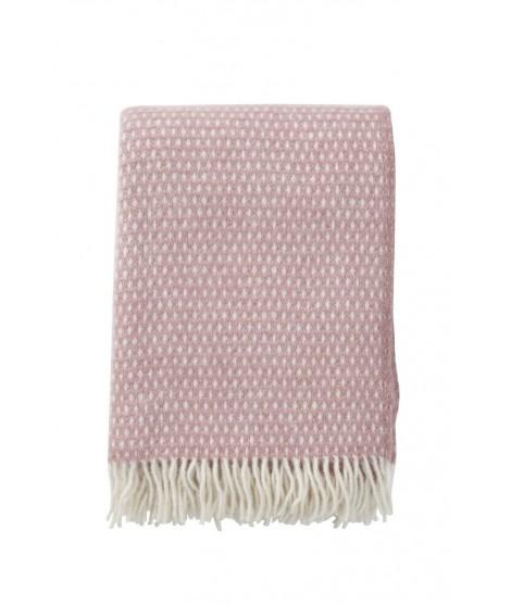Vlněný pléd Knut pink 130x200