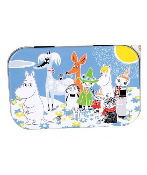 Mini plechová dóza Moomin Friends 10x6,5x2cm