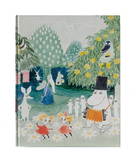 Notebook Fin Family Moomintroll A5, 128 pages