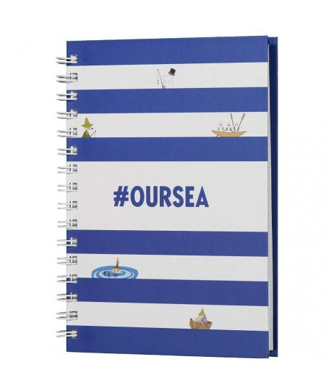 Notebook Moomin #OURSEA  A5