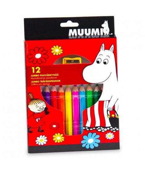 Sada pastelek Moomin 12ks