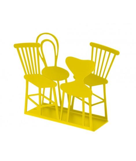 Napkin holder Chairs yellow 11x14x4