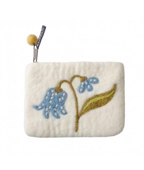 Purse Lily white 14x10