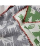 Vlněné dětské deky (65x90)