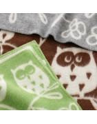 Vlněné dětské deky (90x130)